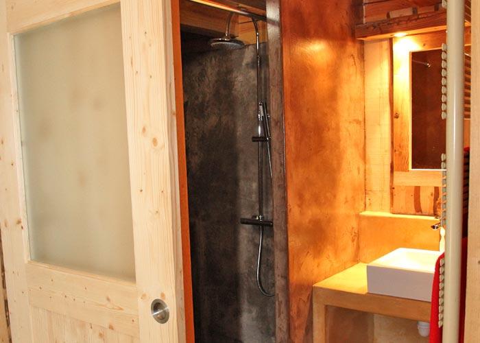 chambre d 39 h tes le gouleyou le mas de la sard che la rochette. Black Bedroom Furniture Sets. Home Design Ideas
