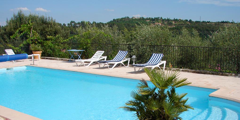 Masdesoliviers for Ardeche location maison avec piscine