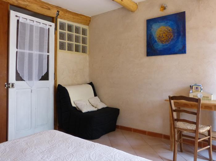 chambre d 39 h tes aub pine aubenas en ard che mas de bourlenc. Black Bedroom Furniture Sets. Home Design Ideas