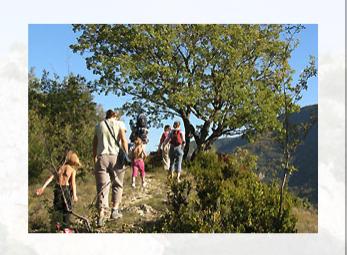 Randonnée pédestre en Ardèche