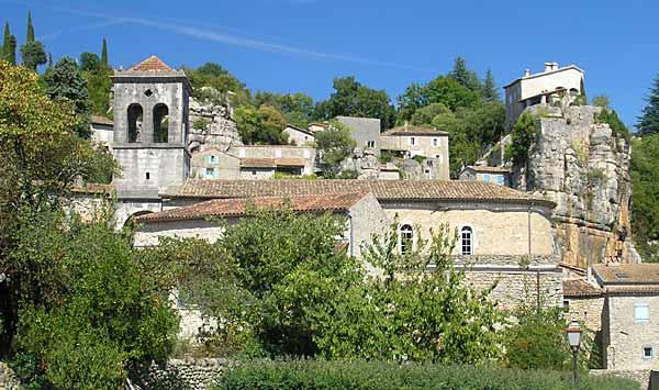 labeaume, village, ardèche