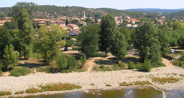 village de ruoms ardèche